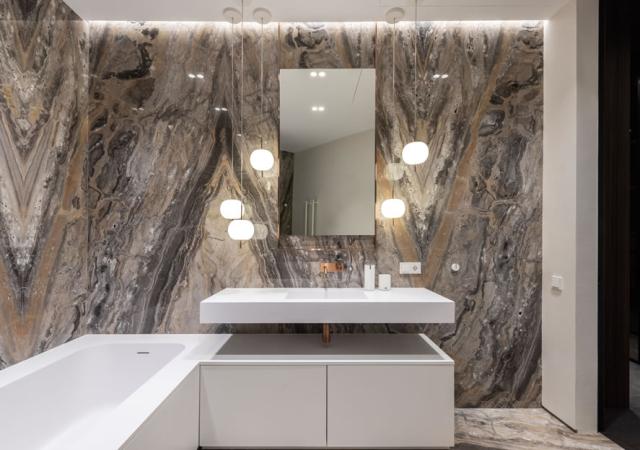Pintura marmorizada: como aplicá-la na parede?