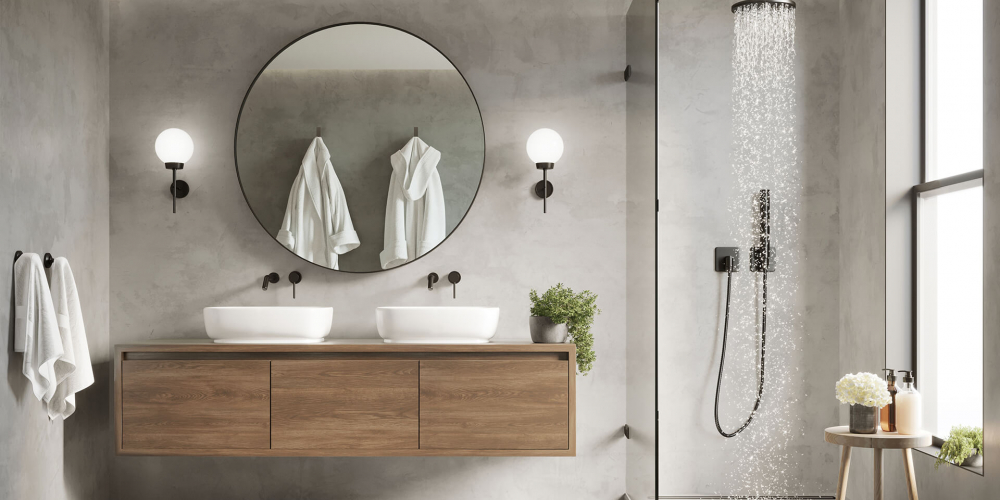 Banheiros modernos: 5 dicas para decorar